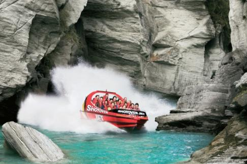 Queenstown Combos- Canyon Fox + Shotover Jet + Rafting