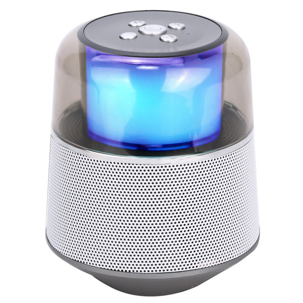 new led bluetooth speaker waterproof bathroom mini fashion musical instrument built-in microphone card radio ing
