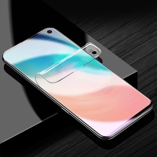 1 Pack Protection totale totale Transparent HD Film transparent Film protecteur d'écran Membrane pour Samsung s10lite Smudge Anti-poussière Design Slim