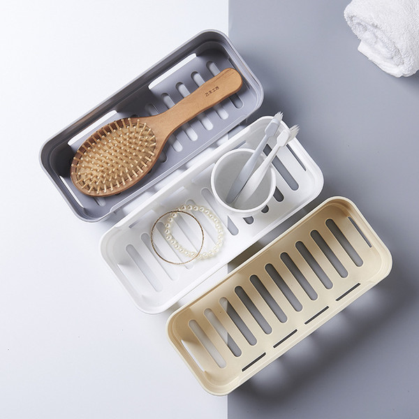punching rack toilet toilet vanity bathroom storage rack basket no trace stickers wf4011702