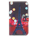 Night Tower Painting Pattern Faux Leather with Plastic Hard Back Cover Pouches for Samsung Galaxy S3 I9300