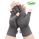 2 pairs compression arthritis gloves, fingerless hand gloves for rheumatoid amp; osteoarthritis - joint pain and carpel tunnel relief-men amp; women (small-2 pairs)