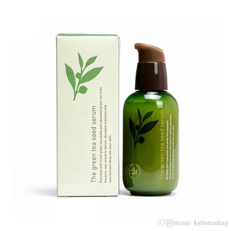 Korea Famous Brand Innisfree The Gree Tea Seed Serum From The Pure Jeju Island 80ML Free Shipping