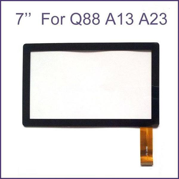 Brand New Touch Screen Display Glass Digitizer Digitiser Panel Replacement For 7 Inch Q88 A13 A23 Tablet PC Repair Part MQ100 DHL