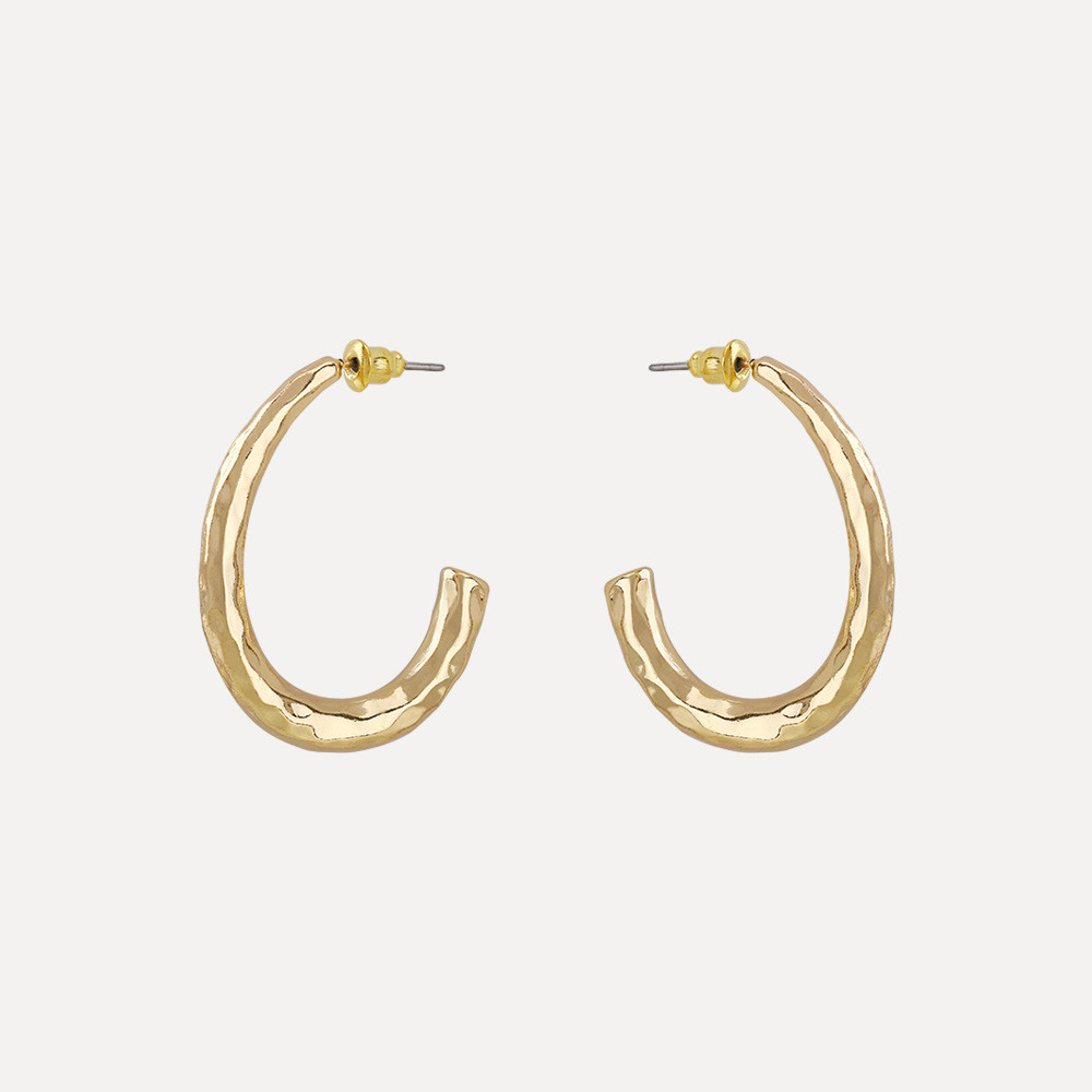 C Shape Fashionable Earrings