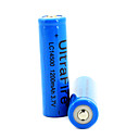 2pcs UltraFire 1200mAh 3.7V 14500 Rechargeable Batteries - White EBTGP-289867
