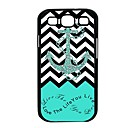 Elonbo J6C New Retro Cute Anchor Hard Back Case Cover for Samsung Galaxy S3 I9300
