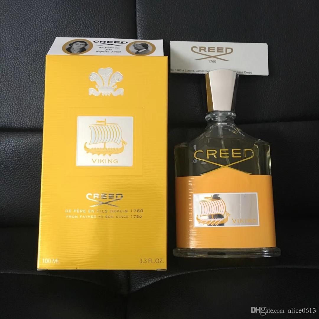 Hot Selling perfume men cologne yellow Creed Irish tweed green Creed 100ml with high guality free shipping