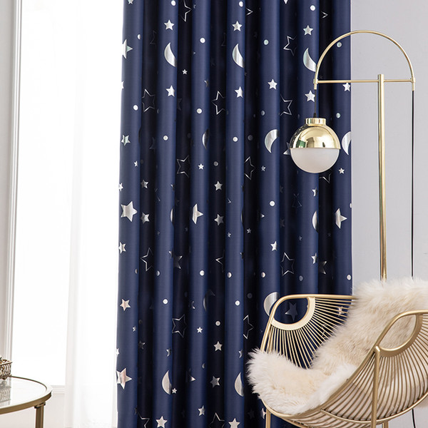 window blinds roller blinds bedroom blackout curtains-dark printed curtains living room compartment insulated window shades navy