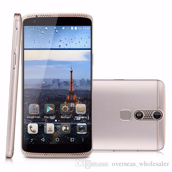 Original ZTE Axon Mini B2015 Android 5.1 Snapdragon MSM8939 1.5GHz Octa-core 3G RAM 32G ROM FHD 5.2 Inch 13.0MP Fingerprint Cell Phone