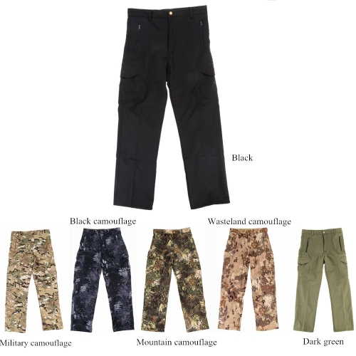 Outdoor Pants Men Hiking & Camping Pants Water-resistant Windproof Thermal Combat Outdoor Trousers