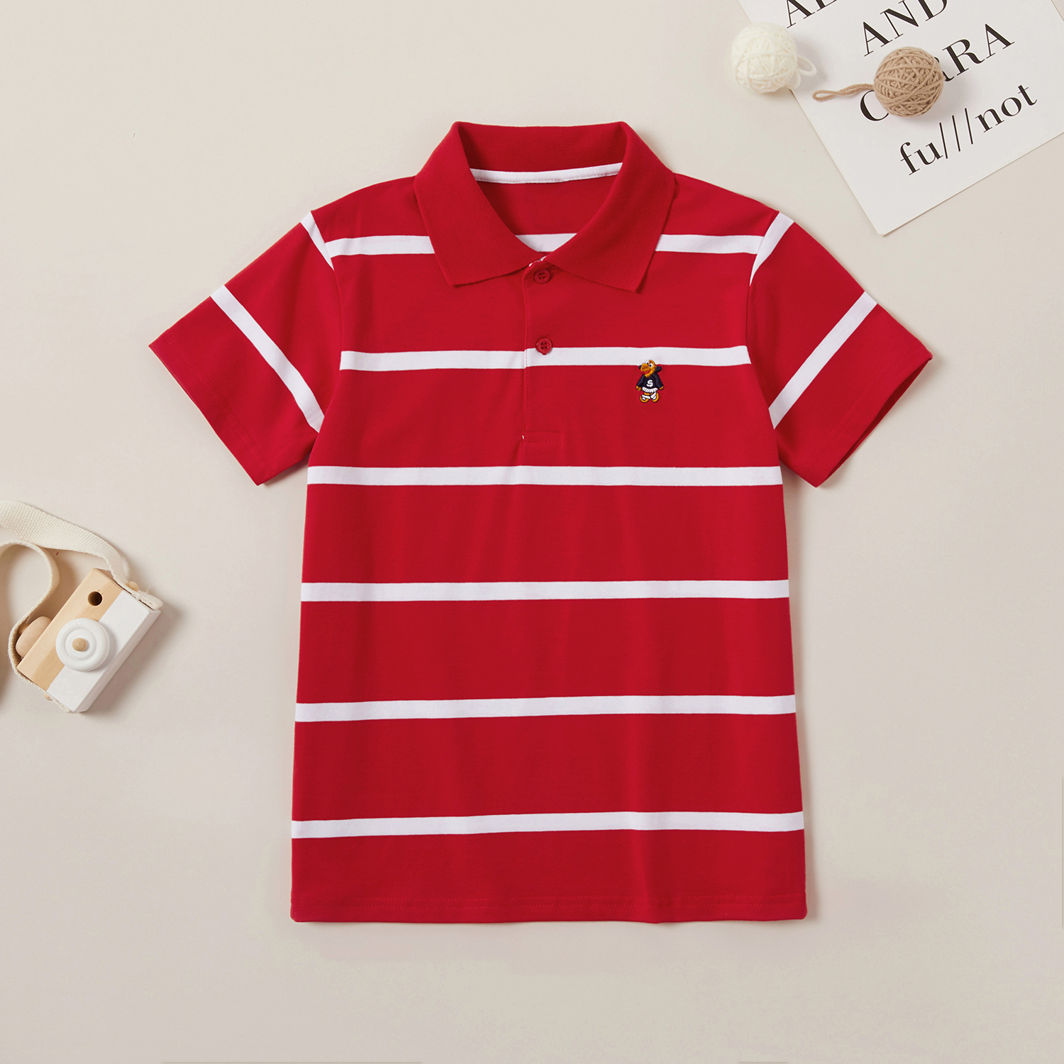 Trendy Striped Polo Shirts