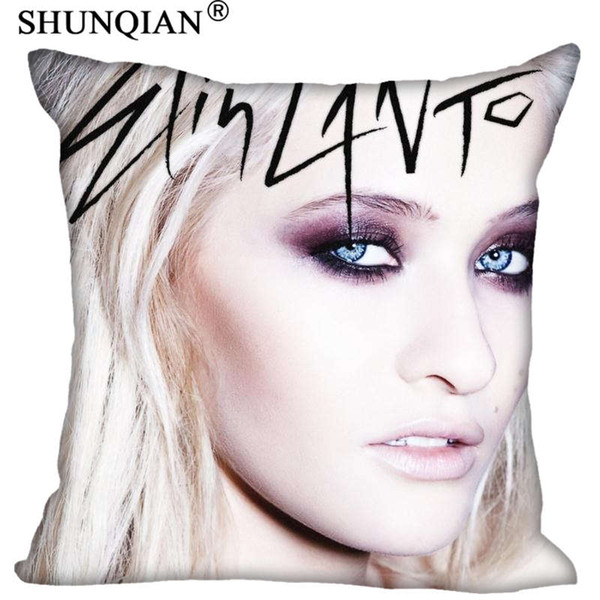 new arrival elin lanto square pillowcases zipper custom pillow case more size custom your image gift
