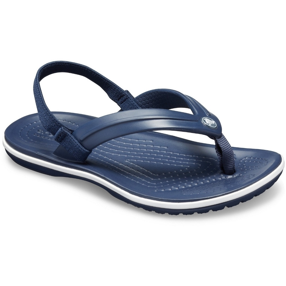 Crocs Girls Crocband Lightweight Comfy Ankle Strap Flipflops UK Size 11 (EU 28)