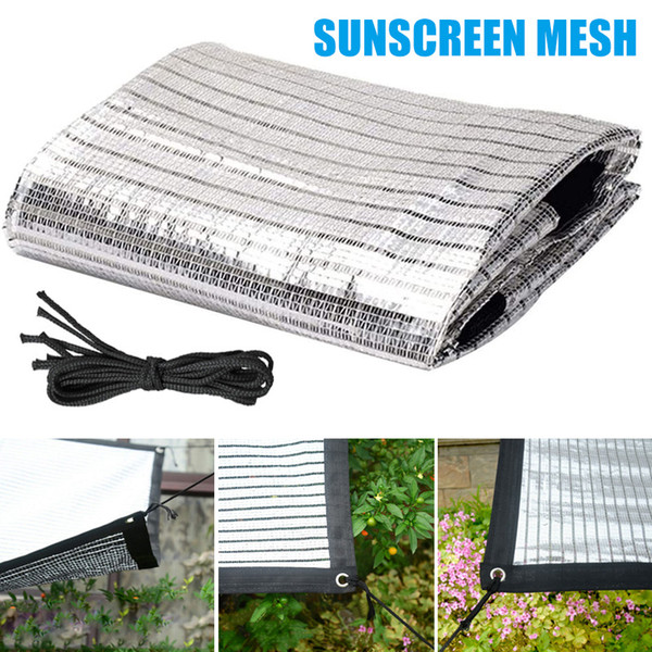 Flowers Plant Shade Net Sunscreen Mesh Balcony Courtyard Shading Cooling Net DTT88
