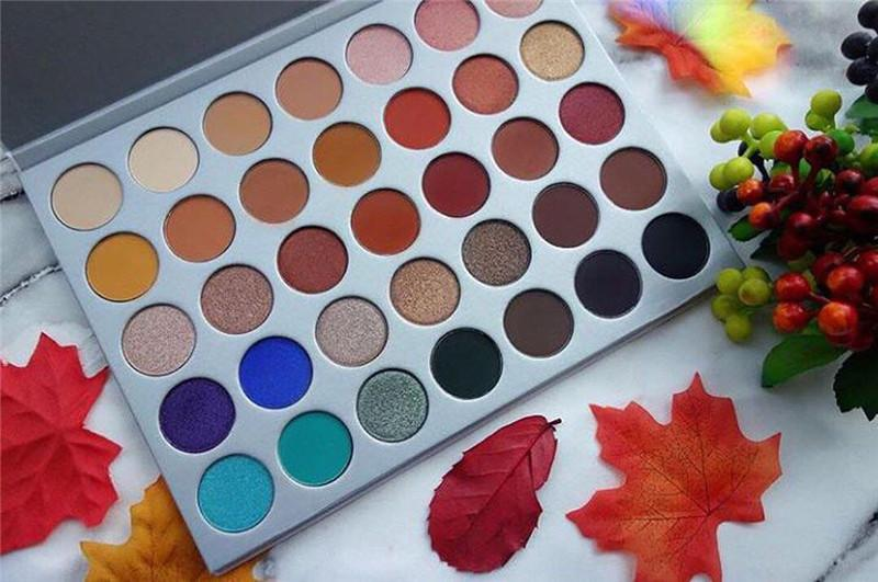 35 colors eye shadow Palette Matte Shimmer Eye shadow makeup palette 35 colors Cosmetic palette eye shadow Drop shiping 1pcs