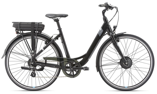 GIANT Ease-E+ 2 25km/h Small Black/Grey 2019