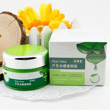 Anan Sonsi Aloe Vera Face Moisturizer Anti Aging Cream Skin Care