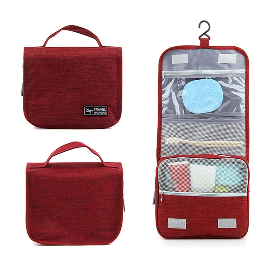 Portable Large Capacity Wash Storage Bag with Hook