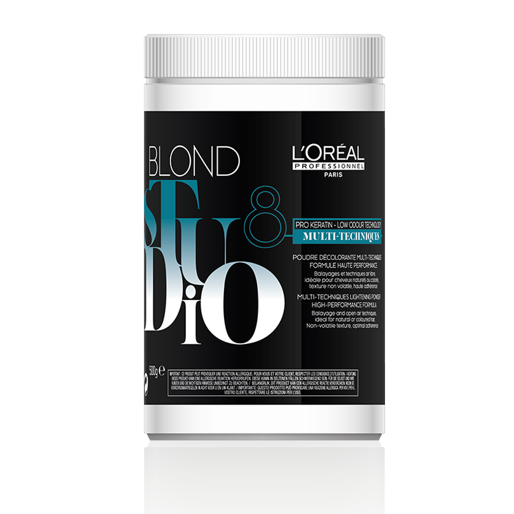 l'oréal professionnel blond studio multi techniques lightening powder 500