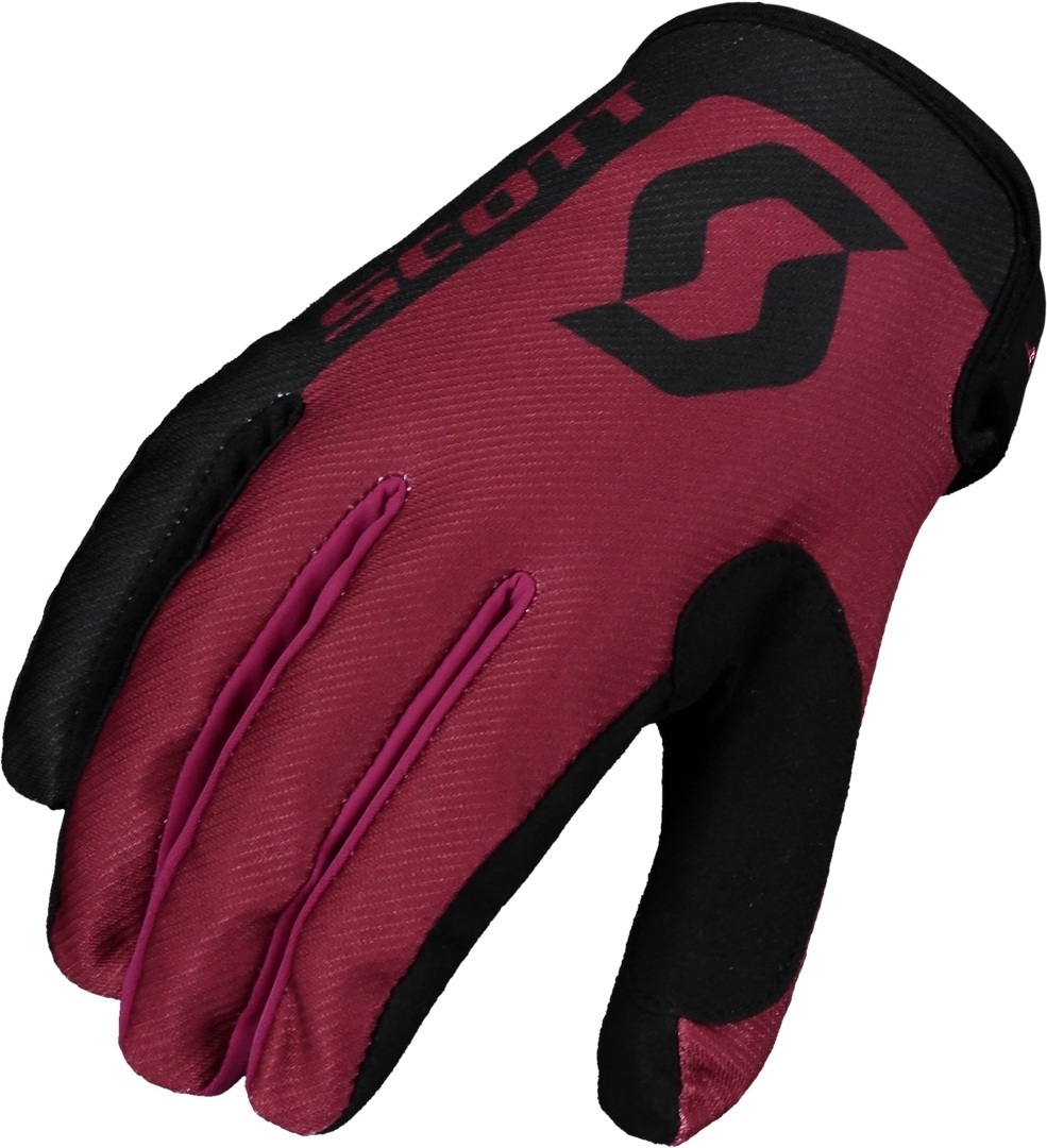 Scott 350 Race Regular Gants Motocross enfants Noir Rouge 2XL