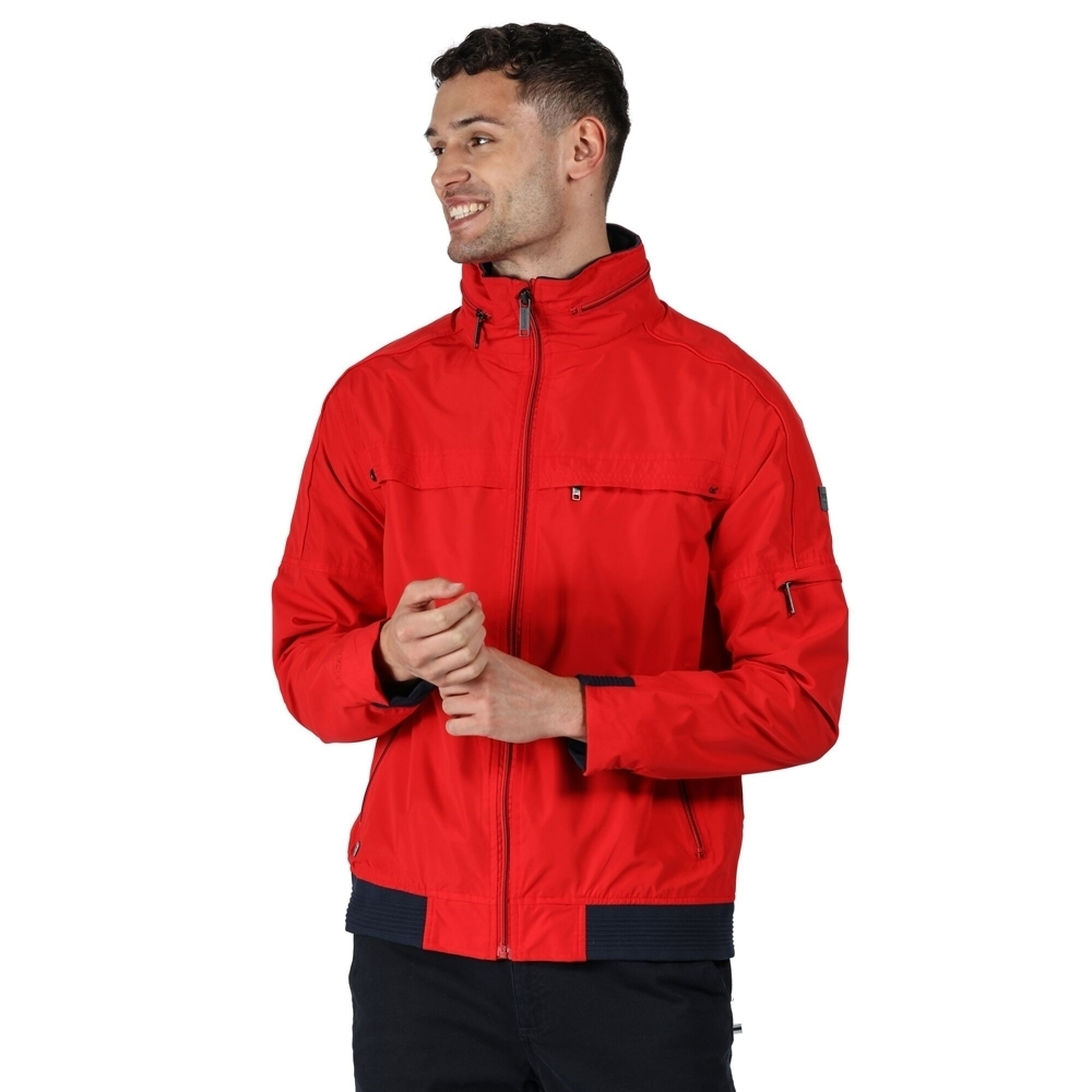 Regatta Mens Montel Waterproof Breathable Durable Jacket L - Chest 41-42' (104-106.5cm)