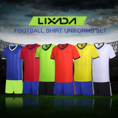 Lixada Football Shirt Uniforms Set