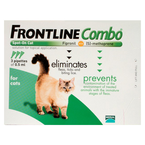 Frontline Plus (Combo) For Cats 12 Pipette