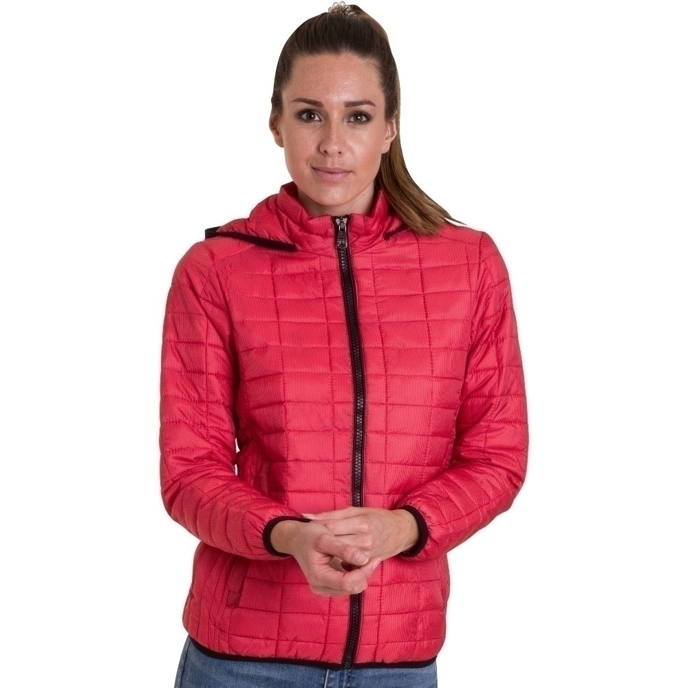 Outdoor Look Womens/Ladies Doune Hooded Padded Puffa Quilt Coat Jacket 2XL- UK Size 18