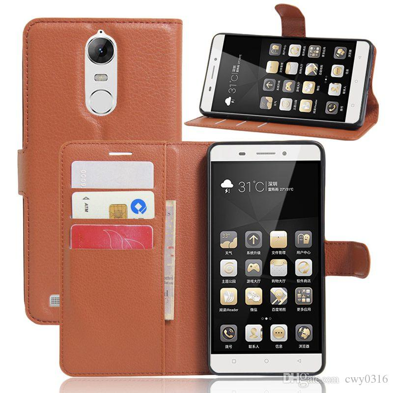 Luxury Leather Case for Lenovo K5 Note Case for Lenovo K5 Note Flip Cover Wallet Card Slot Phone Bag