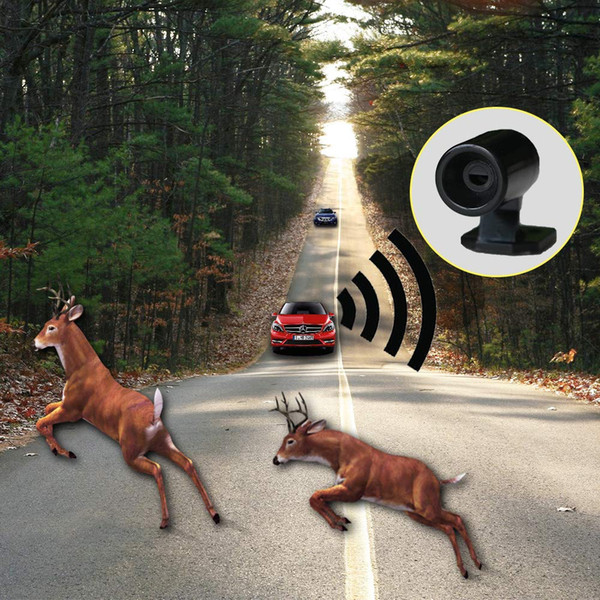 new 6pcs animal alert whistle ultrasonic car deer animal alert warning whistles safety sound alarm for car suv motorcycle