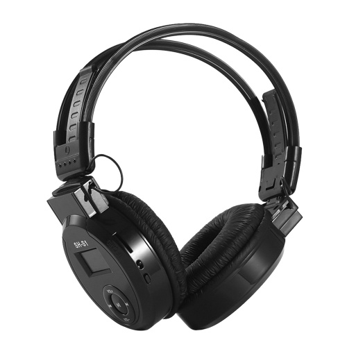 SH-S1 Foldable Over Ear Headset MP3 Player