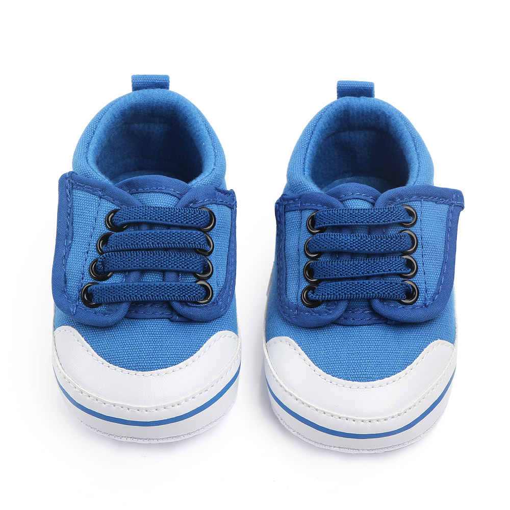 Baby / Toddler Boy Fashionable Solid Wing Prewalker Shoes