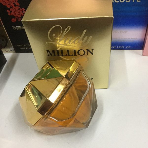 famous brand 1 million perfume for lady 80ml with long lasting time good smell good quality high fragrance capactity