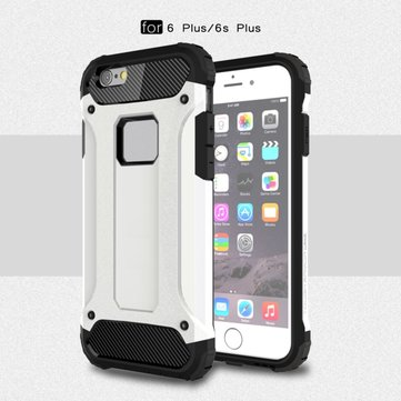 TPU PC Dual Hybrid Defender Shockproof Case Full Cover For Apple iPhone 6 Plus 6s Plus 5.5 Inch
