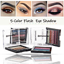 5 Colors Fashion Eye Shadow Disc Beauty Waterproof Long-Lasting Natural Pearl Glitter Sparkle Stage Makeup Makeup Eye Shadow