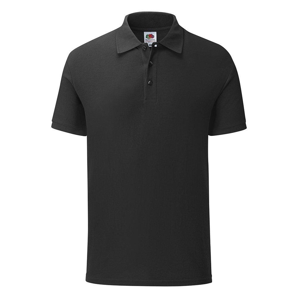 Fruit Of The Loom Mens 65/35 Polycotton Tailored Fit Polo L - 41/43' Chest