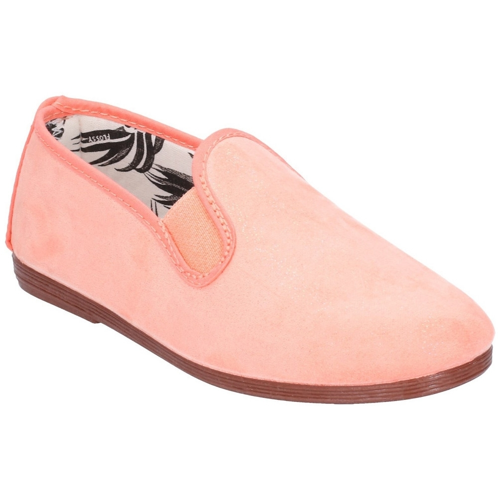 Flossy Girls Junior Crack Slip On Casual Summer Pump Shoes UK Size 11