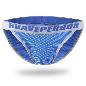 BRAVE PERSON Sexy Breathable U Convex Briefs