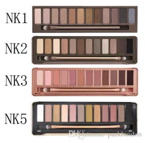 2018 New Makeup Eye Shadow 1.2.3.5.6.7.8 12 Colors Eyeshadow Palette High Quality