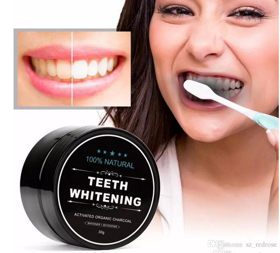 All Natural Organic Activated Charcoal Teeth Cleaning Tooth and Gum Powder Decontamination Tooth Yellow Stain Bamboo Toothpaste Oral Care