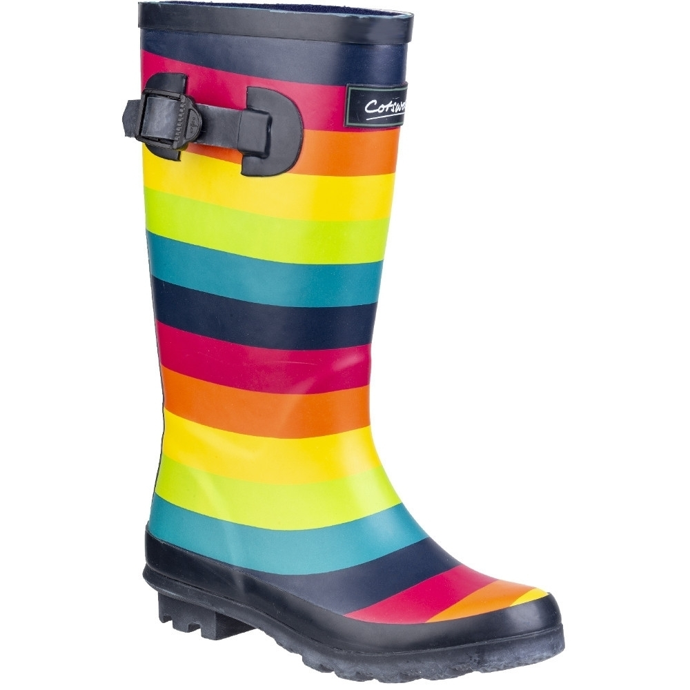 Cotswold Boys Rainbow Junior Multicoloured Wellington Boots UK Size 12 (EU 30  US 13-1)