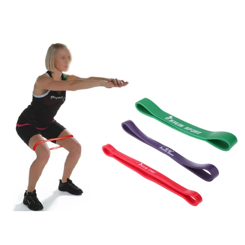 Leg Muscle Building Band Exercises Looped Resistance Band for Fitness